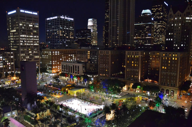 pershing square holiday ice rink back of house. Black Bedroom Furniture Sets. Home Design Ideas