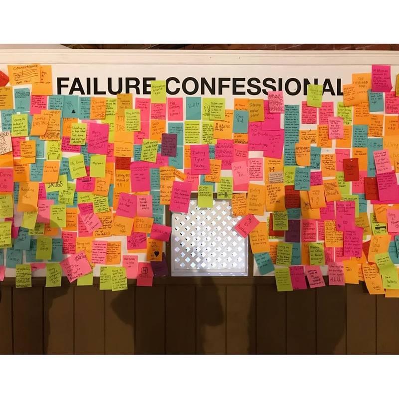 failure confessional