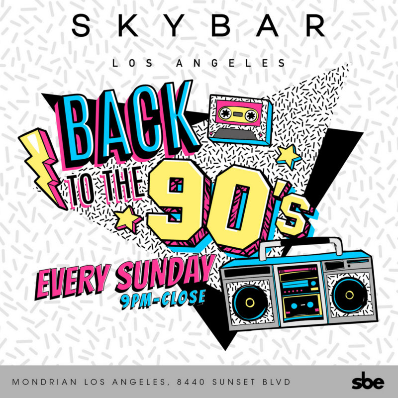 90s Night at Skybar